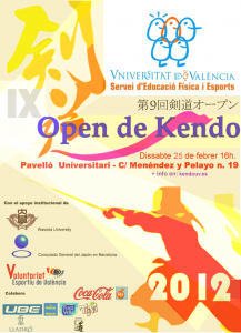 9.Cartel_IX Open Kendo UV 2012