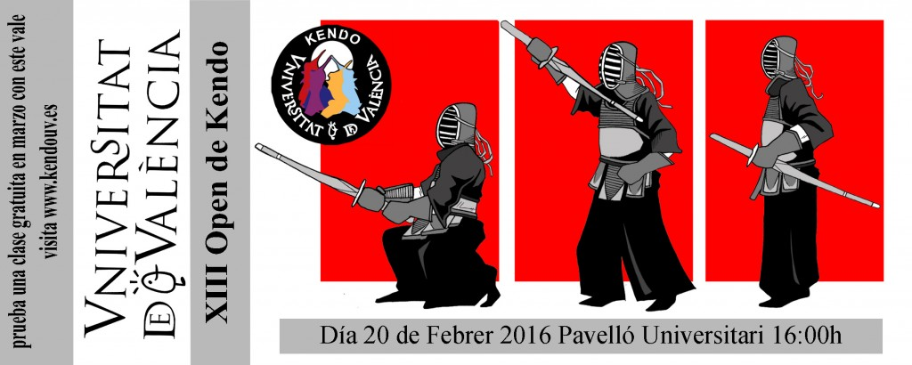 Flyer XIII Open de Kendo
