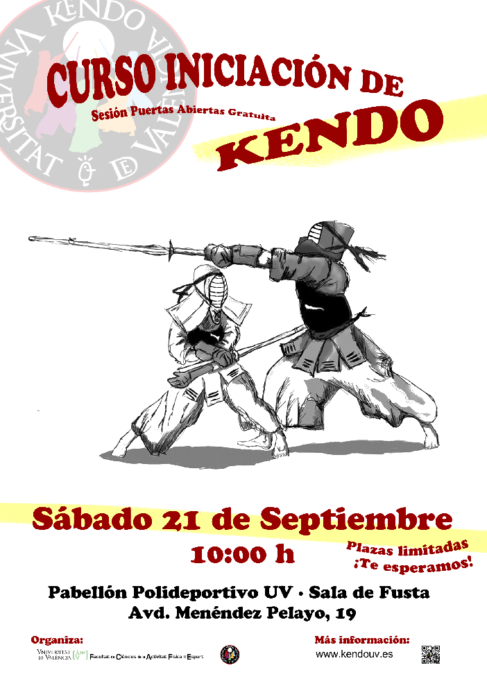 Curso de iniciación al Kendo